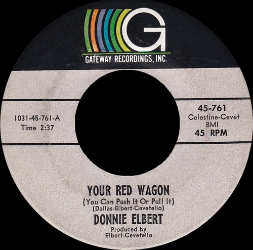 "Donnie Elbert : CD "" Will You Ever Be Mine 1960-1966 "" Soul Bag Records DP 141 [ FR ]"