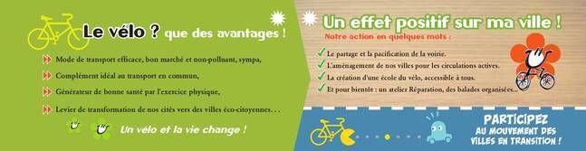 Des nouvelles de  la ville à vélo : antenne MDB Chaville /Vélizy