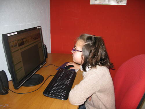 Visite à la Bibliothèque et à la cyberbase