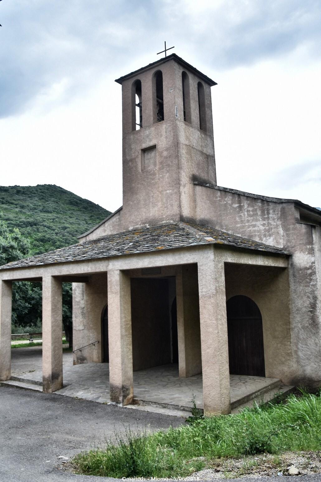 Eglise San Teofalu - Miomo - Corse