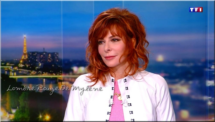 Captures D'ombres MF Interview JT(TF1) 11-03-2018 Série 1