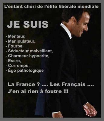 Macron, le vide vers le gouffre ...