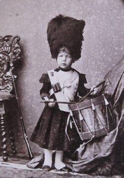 Marie-Colombe, filleule de l'empereur.