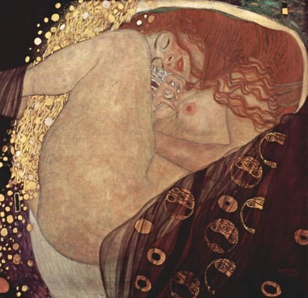 Gustav Klimt (Danaé)