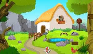 Jouer à KNF Forest little cottage escape