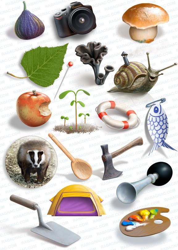 Illustrations et peintures numériques (Illustrator & Photoshop)