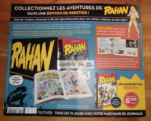 N° 1 La collection Rahan édition anniversaire 50 ans - Test