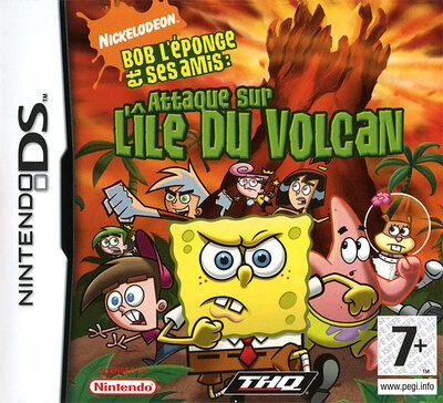 Bob l'Eponge et ses Amis : Attaque sur l'Ile du Volcan (EU)(M6)