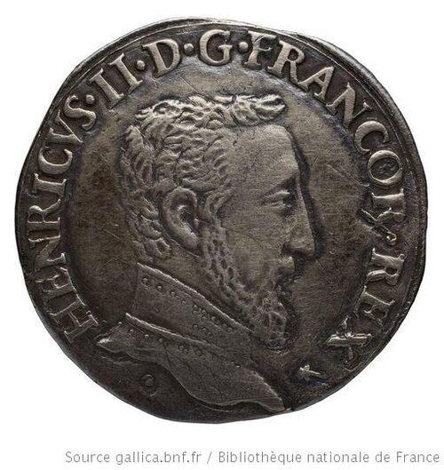 La pièce d'argent Henri II