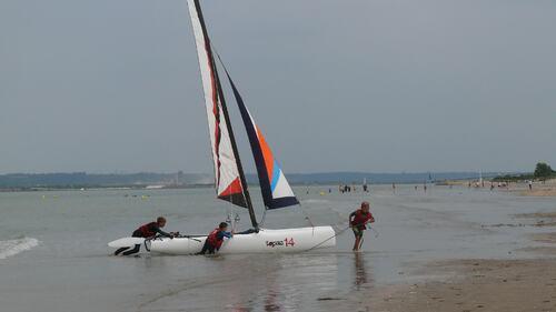 stage de catamaran
