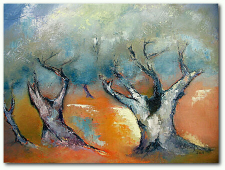 ♦ Les  oliviers  (Hubert)