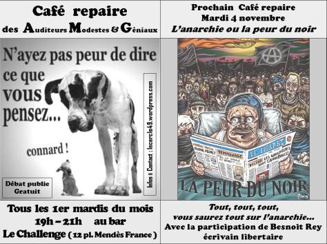 Café repaire 4 novembre ( anarchie )