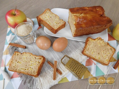 Cake aux pommes & cannelle