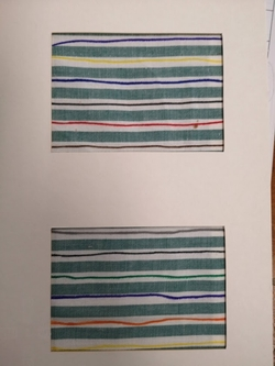Graphisme TH: Etape 5: le tracé sur tissu