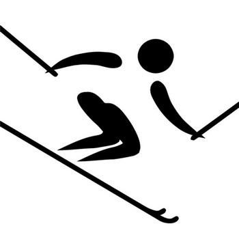 Ski de piste et de fond ateliers et modules l 39 cole - Ski alpin dessin ...