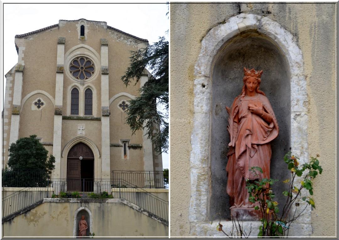 église Ste-Quitterie Castelnau Barbarens - Gers (3)