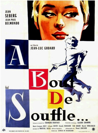 A BOUT DE SOUFFLE - BOX OFFICE JEAN-PAUL BELMONDO 1960