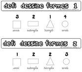 Défi dessine formes