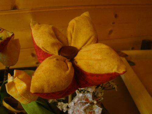 des fleurs !!!! de mes petites mimines