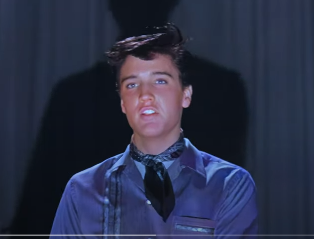 Elvis Presley AI 5K Restored / Difficult Colorization - New Orleans