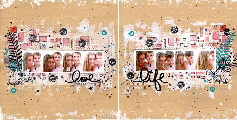 Toga Scrapbooking Day - Défi N°3