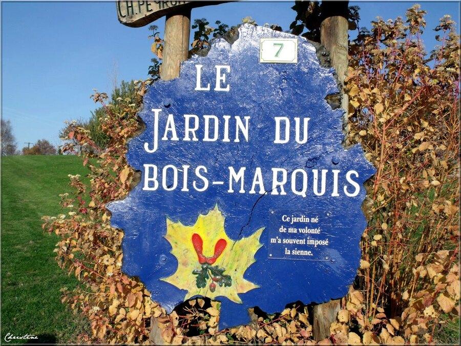 JARDIN EXTRAORDINAIRE DU BOIS MARQUIS