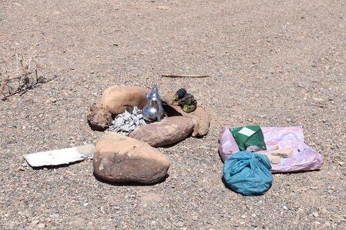 13 avril - Ouarzazate - pique-nique au barrage Al Mansour