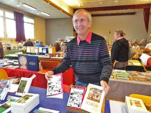 Des livres au village 2011 à Recey sur ource...