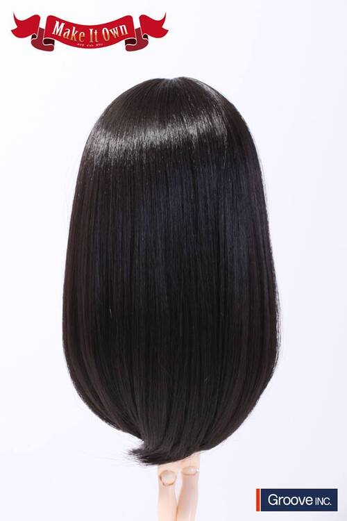 Wig Medium - Natural Black