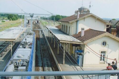 La gare en 2005