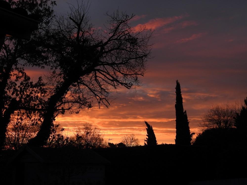 Lever de soleil du dimanche 16 février 2020...