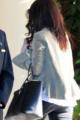 CANDIDS : Selena de retour à l'hôtel