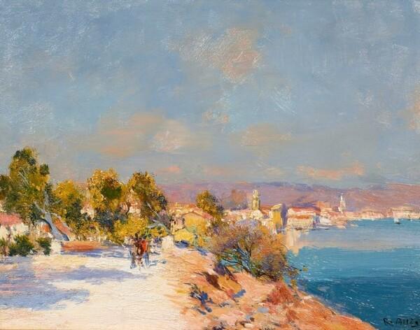 Peintures de : Raymond Allègre