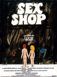 SEX SHOP BOX OFFICE FRANCE 1972