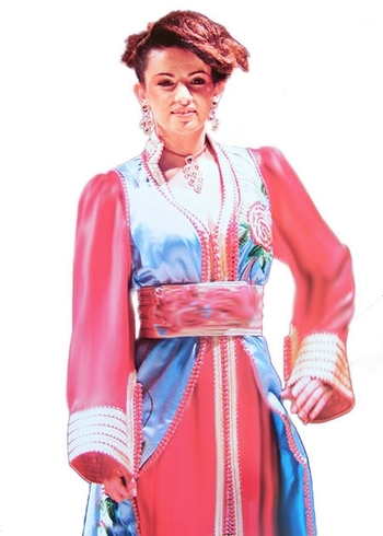 Takchita-marocaine original de haute couture en ligne et pas cher TAK-S901