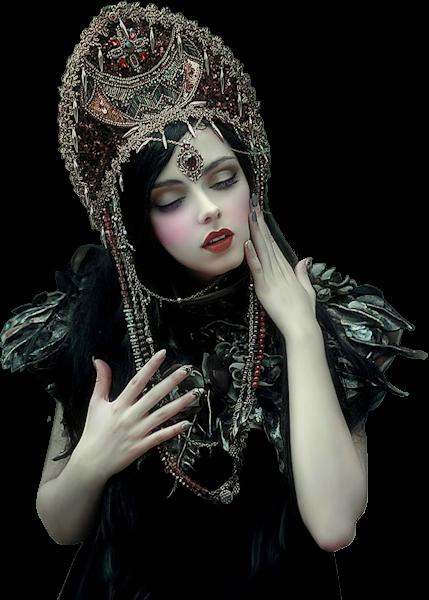 Tubes femmes gothiques création 19