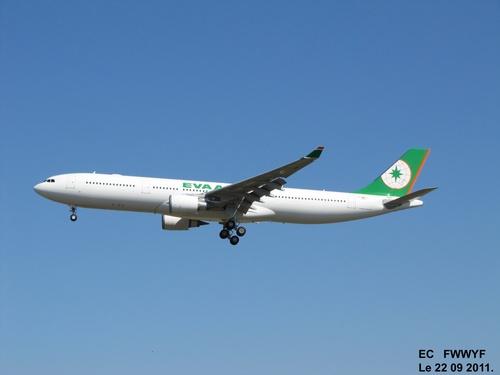 Airbus A 330 F WWYF Le 22 09 2011 à 14h36.