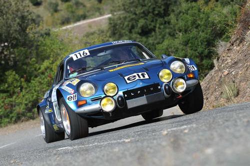 "Renault Alpine A110 Rallye ""Verem"" 1/43ème."