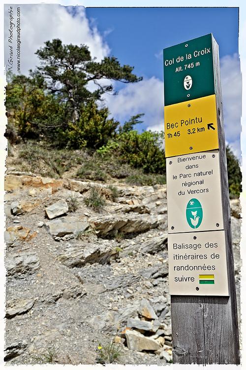 Le Bec Pointu, belvédère entre Vercors & Diois