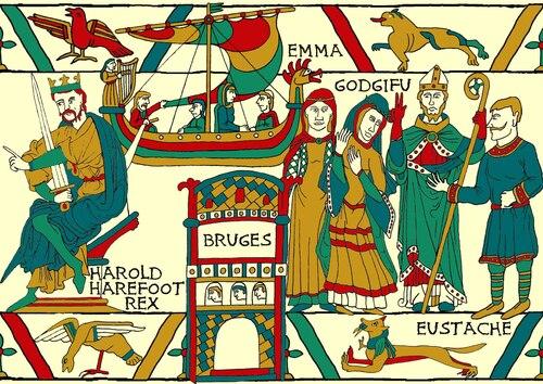 Histoire d'Emma la Normande