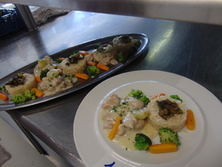 Examen de cuisine des MCET