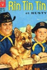 Rintintin 1954 : A la fin du XIXe siècle, le 101e régiment de cavalerie de Fort Apache recueille un jeune garçon, Rusty, et son berger allemand, Rintintin, uniques survivants d'un convoi de pionniers attaqué par des Indiens. A la suite d'une de leurs aventures Rusty est promu caporal honoraire et Rintintin, mascotte du régiment et ont l'autorisation officielle de rester au fort. ... ----- ...  Langue du Film : FRANÇAIS Diffusion d'origine : 1954 Nationalité : USA Genre : Série western/aventure Cast : Rintintin, Lee Aaker, James Brown, Joe Sawyer