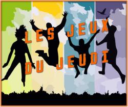 Les JEUX du JEUDI - Thèmes : Saint-Valentin