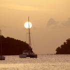 Un soir à l'Anse à l'Âne (Trois-Îlets) - Photo : Yvon