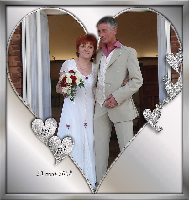 Six ans de mariage ce jour
