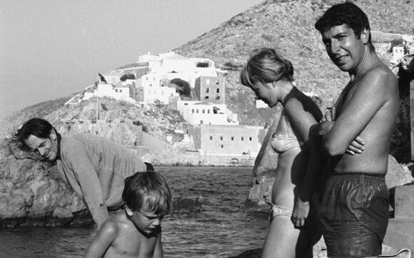 Leonard Cohen et le Grèce