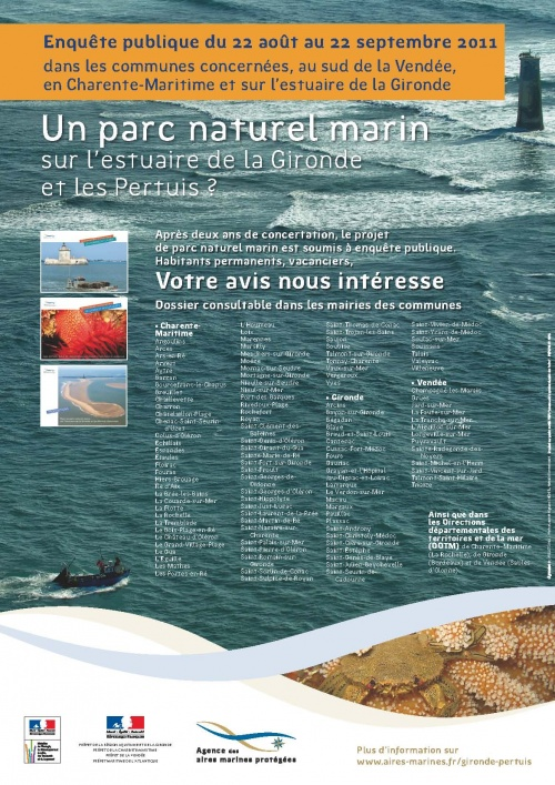 Parc naturel marin : l'enquête publique arrive.