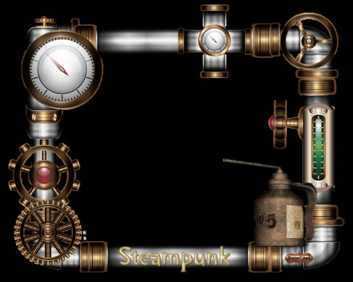Cadres steampunk fille par Jopel