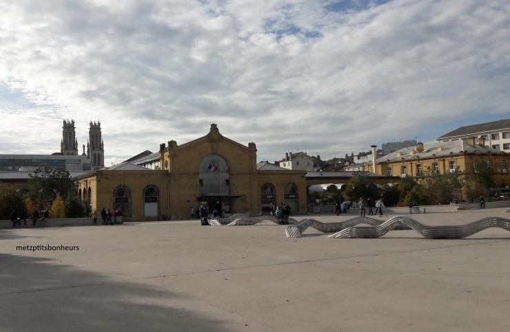 ... autour de la gare de Nancy...