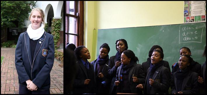 Lycée de filles Rustenburg de Cape Town